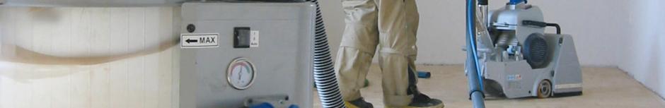 Maschinelle Reinigung Parkettboden